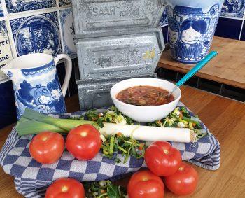 Dag Soep: Tomaten-Groente soep